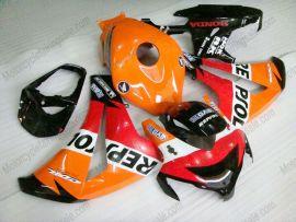 Honda CBR1000RR 2008-2011 Injection ABS verkleidung - Repsol - Orange/Rot/Schwarz