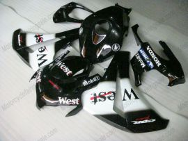 Honda CBR1000RR 2008-2011 Injection ABS verkleidung - West - Schwarz/Weiß