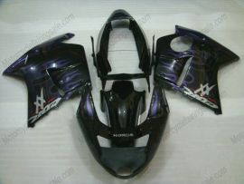 Honda CBR 1100XX BLACKBIRD 1996-2007 Injection ABS verkleidung - Flame - Lila Flame