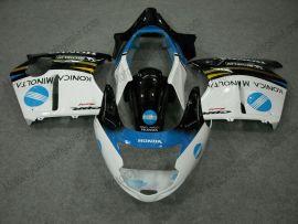Honda CBR 1100XX BLACKBIRD 1996-2007 Injection ABS verkleidung - anderen - Schwarz/Weiß