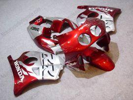 HONDA CBR 250RR MC22 1991-1998 Injection ABS Verkleidung - Fireblade - Rot/Silber