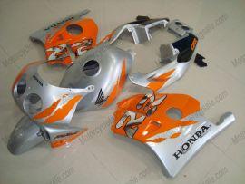 HONDA CBR 250RR MC22 1991-1998 Injection ABS Verkleidung - Fireblade - Orange/Silber