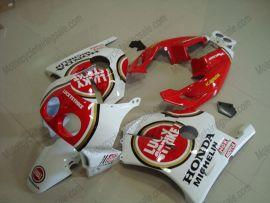 HONDA CBR 250RR MC22 1991-1998 Injection ABS Verkleidung - Lucky strike - Rot/Weiß