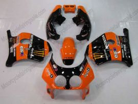 HONDA CBR 250RR MC22 1991-1998 Injection ABS Verkleidung - Monster - Schwarz/Orange