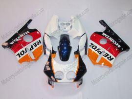 HONDA CBR 250RR MC22 1991-1998 Injection ABS Verkleidung - Repsol - Weiß/Orange/Rot
