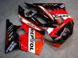 Honda CBR 400RR NC23 1988-1989 ABS Verkleidung - Repsol - Rot/Schwarz