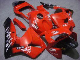 Honda CBR 600RR F5 2003-2004 Injection ABS verkleidung - Dunlop - Rot/Schwarz