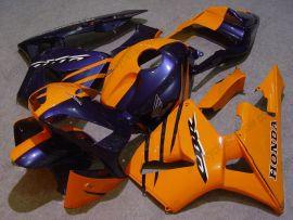 Honda CBR 600RR F5 2003-2004 Injection ABS verkleidung - anderen - Orange/Blau