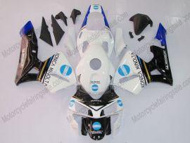 Honda CBR 600RR F5 2003-2004 Injection ABS verkleidung - Konica Minolta - Weiß/Schwarz/Blau