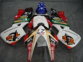 Honda CBR 600RR F5 2003-2004 Injection ABS verkleidung - Lee - Weiß/Schwarz/Rot
