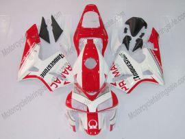 Honda CBR 600RR F5 2003-2004 Injection ABS verkleidung - PRAMAC - Rot/Weiß