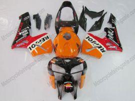 Honda CBR 600RR F5 2005-2006 Injection ABS verkleidung - Repsol - Schwarz/Orange/Rot