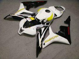 Honda CBR 600RR F5 2007-2008 Injection ABS verkleidung - HANN spree - Weiß/Schwarz