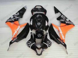 Honda CBR 600RR F5 2007-2008 Injection ABS verkleidung - Jordan - Schwarz/Orange