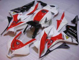 Honda CBR 600RR F5 2007-2008 Injection ABS verkleidung - Moriwaki - Rot/Schwarz/Weiß