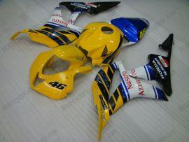 Honda CBR 600RR F5 2007-2008 Injection ABS verkleidung - Nastro Azzurro - Gelb/Schwarz/Weiß