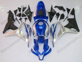 Honda CBR 600RR F5 2007-2008 Injection ABS verkleidung - Factory Style - Schwarz/Blau/Silber