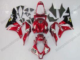 Honda CBR 600RR F5 2007-2008 Injection ABS verkleidung - Factory Style - Rot/Schwarz