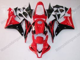 Honda CBR 600RR F5 2007-2008 Injection ABS verkleidung - Factory Style - Schwarz/Rot