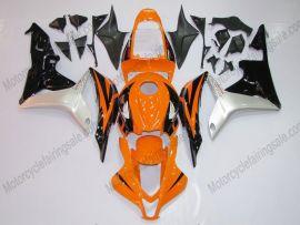 Honda CBR 600RR F5 2007-2008 Injection ABS verkleidung - Factory Style - Schwarz/Orange/Silber
