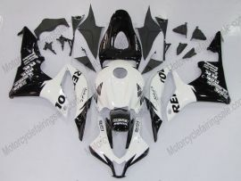 Honda CBR 600RR F5 2007-2008 Injection ABS verkleidung - Repsol - Schwarz/Weiß