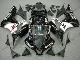 Honda CBR 600RR F5 2007-2008 Injection ABS verkleidung - West - Schwarz/Weiß