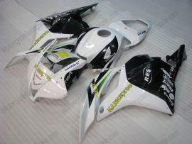 Honda CBR 600RR F5 2009-2012 Injection ABS verkleidung - HANN spree - Weiß/Schwarz