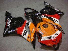 Honda CBR 600RR F5 2009-2012 Injection ABS verkleidung - Repsol - Orange/Schwarz/Rot