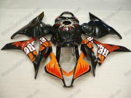 Honda CBR 600RR F5 2009-2012 Injection ABS verkleidung - Rossi - Orange/Schwarz