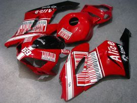 Honda CBR1000RR 2004-2005 Injection ABS verkleidung - Alice - Rot/Schwarz