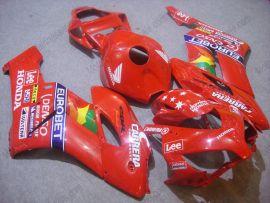 Honda CBR1000RR 2004-2005 Injection ABS verkleidung - Lee - Rot