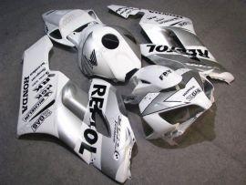 Honda CBR1000RR 2004-2005 Injection ABS verkleidung - Repsol - Weiß/Silber