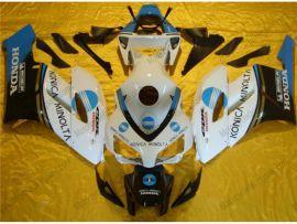 Honda CBR1000RR 2004-2005 Injection ABS verkleidung - Konica Minolta - Weiß/blau/schwarz