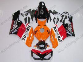 Honda CBR1000RR 2004-2005 Injection ABS verkleidung - Repsol - Schwarz/Orange/Rot