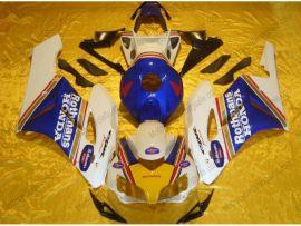 Honda CBR1000RR 2004-2005 Injection ABS verkleidung - Rothmans - Weiß/Blau