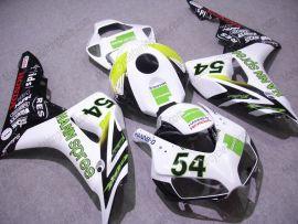 Honda CBR1000RR 2006-2007 Injection ABS verkleidung - HANN Spree - Weiß/Schwarz/Grün
