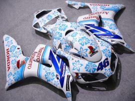Honda CBR1000RR 2006-2007 Injection ABS verkleidung - Nastro Azzurro - Weiß/Blau