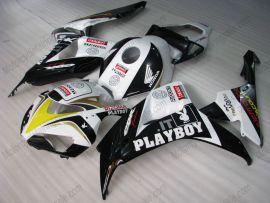 Honda CBR1000RR 2006-2007 Injection ABS verkleidung - PlayBoy - Schwarz/Weiß