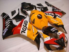 Honda CBR1000RR 2006-2007 Injection ABS verkleidung - Repsol - Orange/Schwarz