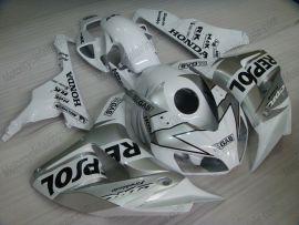 Honda CBR1000RR 2006-2007 Injection ABS verkleidung - Repsol - Silber/Weiß