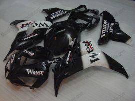 Honda CBR1000RR 2006-2007 Injection ABS verkleidung - West - Schwarz