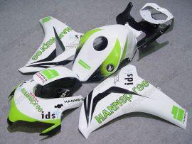 Honda CBR1000RR 2008-2011 Injection ABS verkleidung - HANN Spree - Weiß/Grün