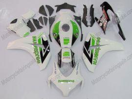 Honda CBR1000RR 2008-2011 Injection ABS verkleidung - HANN Spree - Weiß/Schwarz/Grün