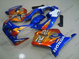 Honda CBR250RR MC19 1988-1989 Injection ABS verkleidung - Fireblade - orange/blau