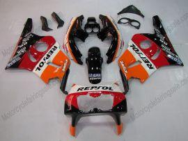 Honda CBR400RR NC29 1990-1998 ABS verkleidung - Repsol - Orange/Schwarz/Rot