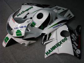 Honda CBR600 F2 1991-1994 ABS Verkleidung - HANN Spree - Weiß/Schwarz