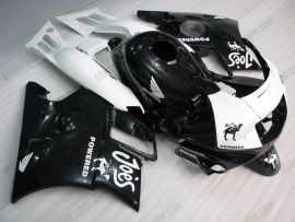 Honda CBR600 F2 1991-1994 ABS Verkleidung - Joes - Camel - Schwarz/Weiß