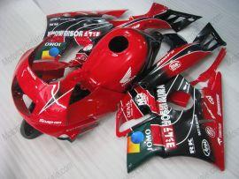 Honda CBR600 F2 1991-1994 ABS Verkleidung - JOMO - Rot/Schwarz