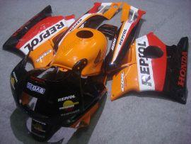 Honda CBR600 F2 1991-1994 ABS Verkleidung - Repsol - Orange/Schwarz/Rot