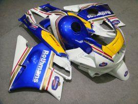 Honda CBR600 F2 1991-1994 ABS Verkleidung - Rothmans - Blau/Gelb/Weiß